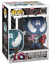 Vinylová figurka č. 364 Venomized Captain America