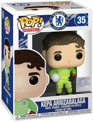 Football Vinylová figurka č. 35 FC Chelsea - Kepa Arrizabalga