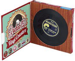 Vinylové podtácky Rockabilly