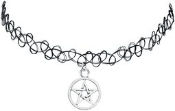 Tattoo náhrdelník s Pentagramem