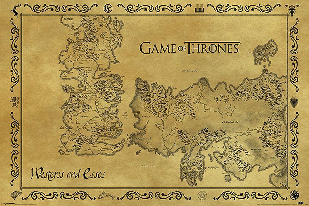 Starožitní mapa