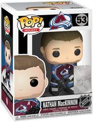 NHL  Vinylová figurka č. 53 Colorado Avalanche - Nathan MacKinnon