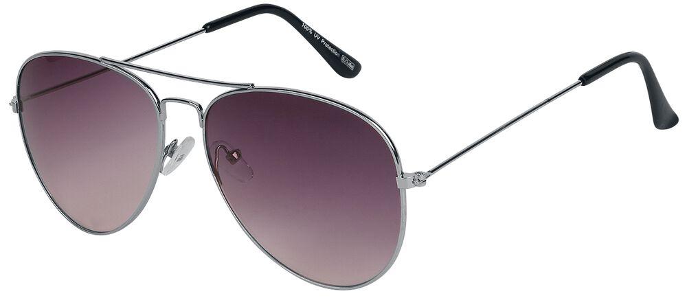 Letecké sluneční brýle Aviator Red