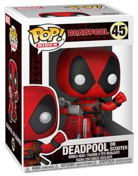 Vinylová figurka č. 45 Deadpool on Scooter