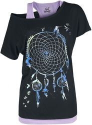 T-shirt with Dreamcatcher Print