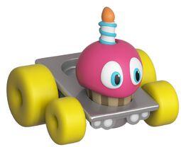 Vinylová figurka Super Racers - Cupcake