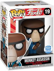 Vinylová figurka č. 19 Fantastik Plastik - Monkey Assassin (Funko Shop Europe)