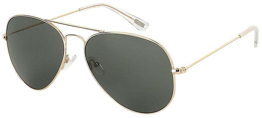 Zelené letecké sluneční brýle