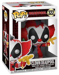 Vinylová figurka č. 322 Clown Deadpool