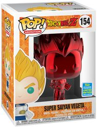 Vinylová figurka č. 154 Z - SDCC 2019 - Super Saiyan Vegeta (Red Chrome)