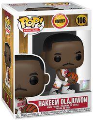 Vinylová figurka č. 106 Houston Rockets - Hakeem Olajuwon (Home Jersey)
