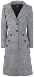 Kabát ve stylu čtyřicátých let Nicole Grey