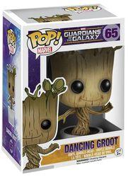 Vinylová figurka s pohyblivou hlavou č. 65 Dancing Groot