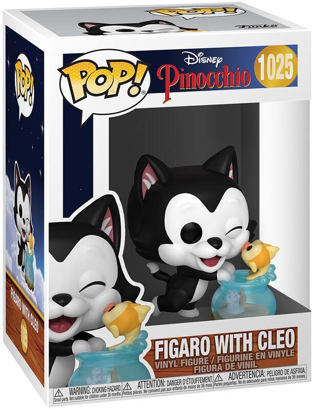 Vinylová figúrka c. 1025 80th Anniversary - Figaro with Cleo