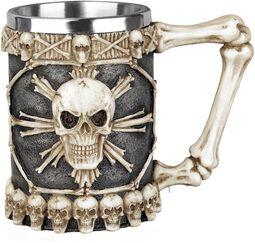 Tankard of skulls