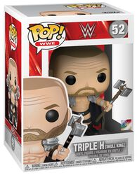 Vinylová figurka č. 52 Triple H (Skull King) (s možností chase)