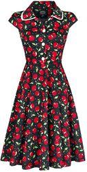Červené vintage šaty Cherry
