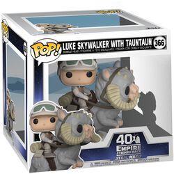 Vinylová figurka č. 366 The Empire Strikes Back 40th Anniversary - Luke Skywalker with TaunTaun (POP Deluxe)