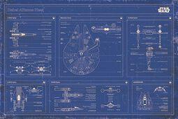 Modrotisk Rebel Alliance Fleet