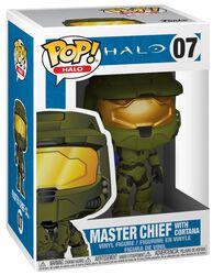 Vinylová figurka č. 07 Master Chief with Cortana