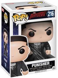 Vinylová figurka s pohyblivou hlavou č. 216 Punisher (s možnosti chase)
