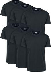Balení 6 ks Basic triček