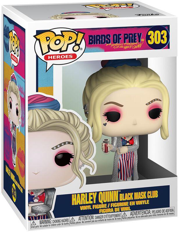 Vinylová figurka č. 303 Harley Quinn Black Mask Club