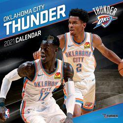 Oklahoma City Thunder - kalendář 2021