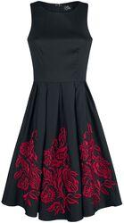 Šaty Anna Adorable s výšivkou s květy