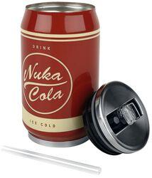 Kovová plechovka na nápoje Nuka Cola
