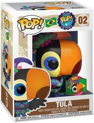 Vinylová figurka č. 02 Around the World - Tula (POP a odznak) (Brazil) (Funko Shop Europe)