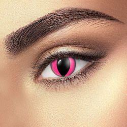Kontaktní čočky Pink Cat Eye