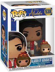 Vinylová figurka č. 538 Aladdin z Agrabah s Abu