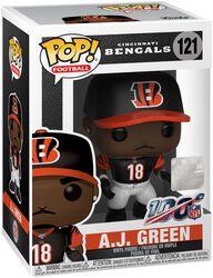 Vinylová figurka č. 121 Cincinnati Bengals - A. J. Green