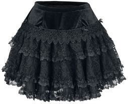 Gotická minisukně Lolita