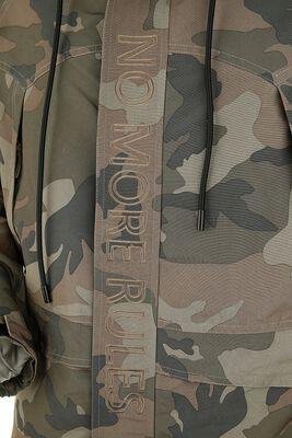 Kamufláž bunda s výšivkou