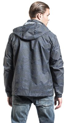 Between-Seasons Jacket with Camouflage Pattern