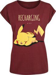 Pikachu - Recharging