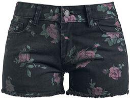 Květované šortky