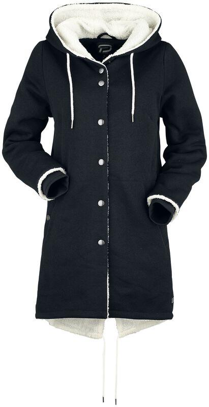 Kabát s flísovou podšívkou