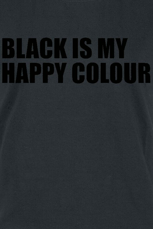 black is my happy colour tri ko emp. Black Bedroom Furniture Sets. Home Design Ideas