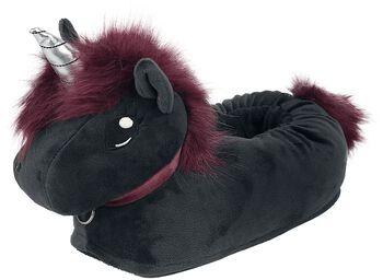 Pantofle pro dospělé Corimori - Ruby Punk Unicorn
