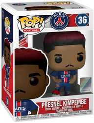 Football Vinylová figurka č. 36 Paris Saint-Germain - Presnel Kimpembe