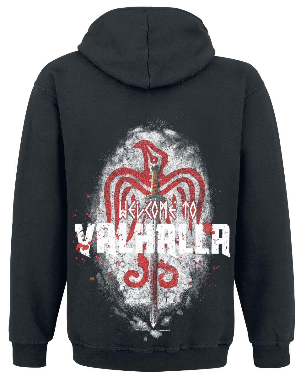 Mikina s kapucí na zip. Vikings 0b8ac0b1cf6