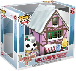 Peppermint Lane - Alice Cranberry with Crescent Moon Diner (Pop! Town) (Funko Shop Europe) Vinylová figurka 02