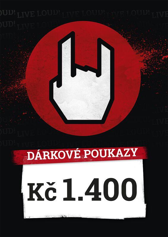 Nákupní a dárkové poukazy 1.400 CZK