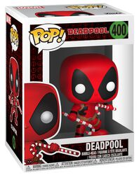 Vinylová figurka č. 400 Deadpool (Holiday)