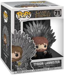 Vinylová figurka č. 71 Tyrion Lannister Iron Throne (POP Deluxe)
