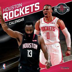 Houston Rockets - kalendář 2021