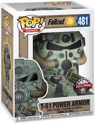 Vinylová figurka č. 481 T-51 Power Armor - 76